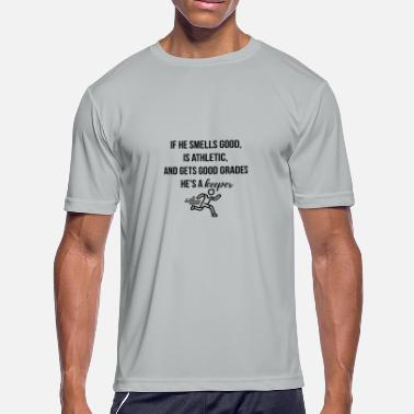 As Good As It Gets If he smells good Is Athletic and gets good grades - Men's Moisture Wicking Performance T-Shirt