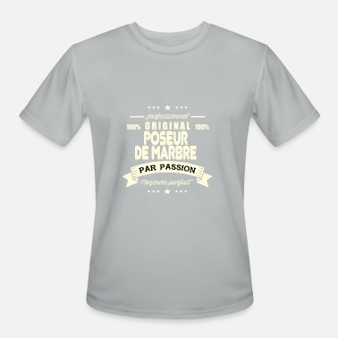 Posers Original Marble Poser - Men's Moisture Wicking Performance T-Shirt