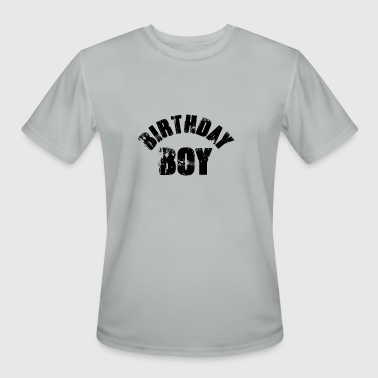 Young Boy Birthday Boy (Young Boy's Birthday Celebration) - Men's Moisture Wicking Performance T-Shirt