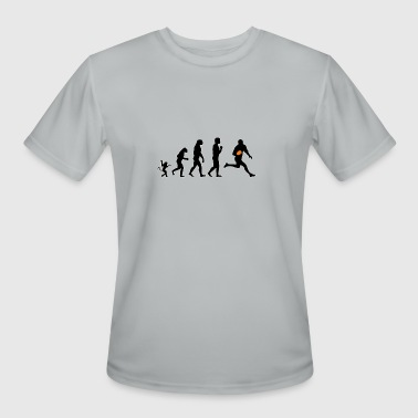 rugby 1 evolution, #rugby 1 - Men's Moisture Wicking Performance T-Shirt