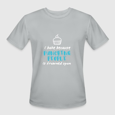 Cooking Bake bake baking kitchen cooking baked goods gift - Men's Moisture Wicking Performance T-Shirt