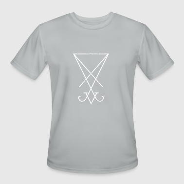 Symbol Of Lucifer | Occult Satanic - Men's Moisture Wicking Performance T-Shirt