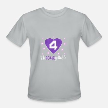 5e8c000161407 Top Fun 4th Birthday Unfourgettable Gift Design - Men's Sport ...