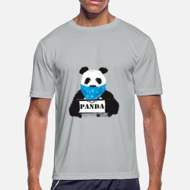 Asian Swag panda searched Gangster swag baer China - Men's Moisture Wicking Performance T-Shirt