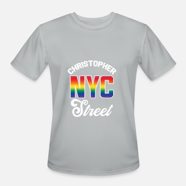 Christopher Street Day Christopher Street NYC - Men's Moisture Wicking Performance T-Shirt