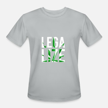 Legal Legalize It Weed Pot Leaf - Men's Sport T-Shirt