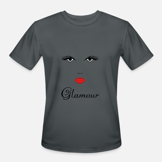 Glamour T-Shirts - Glamour Girl Design - Men's Sport T-Shirt charcoal