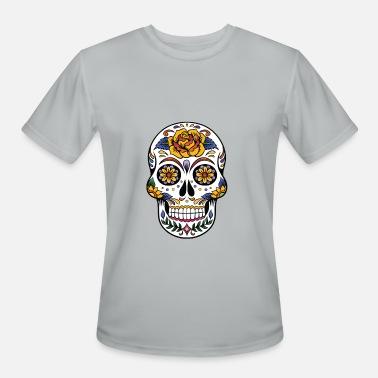 7f458eec6fc Skull Plus Size Men Women Flower Sugar Skull Shirt Day of the Dead - Men
