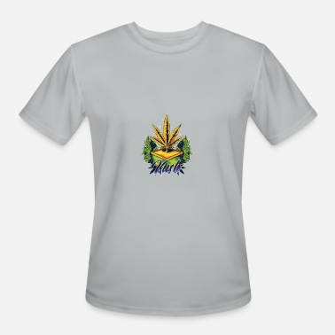 Arte Marijuana Kush Awesome Abstract Art Marijuana Weed - Men's Sport T-Shirt