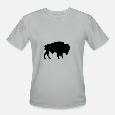American-bison bison native american - Men's Moisture Wicking Performance T-Shirt