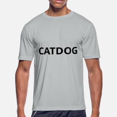 Catdog CATDOG bester freund - Men's Moisture Wicking Performance T-Shirt
