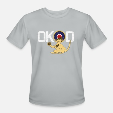 Royal Australian Air Force Coded OK-D of Royal Australian Air Force - RAAF - Men's Moisture Wicking Performance T-Shirt