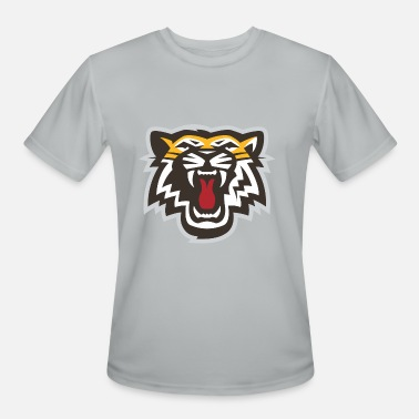 Orange Tiger Face Tiger Orange - Men's Moisture Wicking Performance T-Shirt