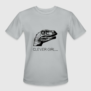 clever girl - Men's Moisture Wicking Performance T-Shirt