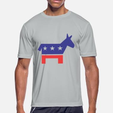 Democratic Party Democratic Party - Men's Moisture Wicking Performance T-Shirt