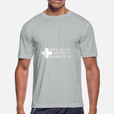 Grey Sloan Memorial Grey Sloan Memorial Hospital - Men's Moisture Wicking Performance T-Shirt