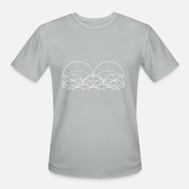 Canopy canopy wireframe - Men's Moisture Wicking Performance T-Shirt