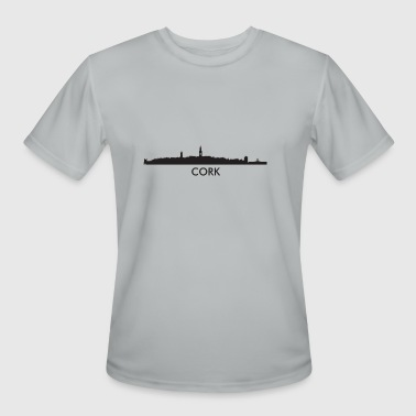 Cork Ireland Cork Ireland Skyline - Men's Moisture Wicking Performance T-Shirt