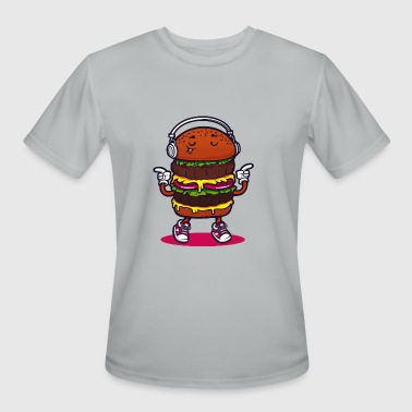 A Boogie Burger boogie - Men's Moisture Wicking Performance T-Shirt