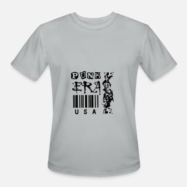 Iroquois Punk era usa rock barcode Iroquois - Men's Moisture Wicking Performance T-Shirt