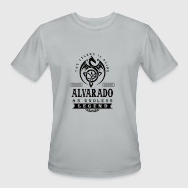 ALVARADO - Men's Moisture Wicking Performance T-Shirt