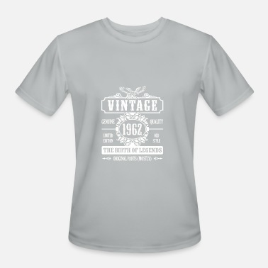 1962 Birth Year Vintage 1962 The Birth Of Legends - Men's Moisture Wicking Performance T-Shirt