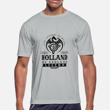 Tom Holland HOLLAND - Men's Moisture Wicking Performance T-Shirt