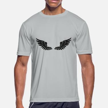 Angel's Wings Wings - Men's Moisture Wicking Performance T-Shirt
