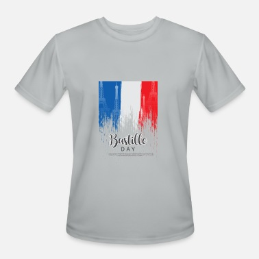 Bastille Day Happy Bastille Day - Men's Moisture Wicking Performance T-Shirt