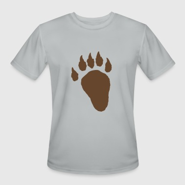 Bigfoot Footprint Footprint - Men's Moisture Wicking Performance T-Shirt