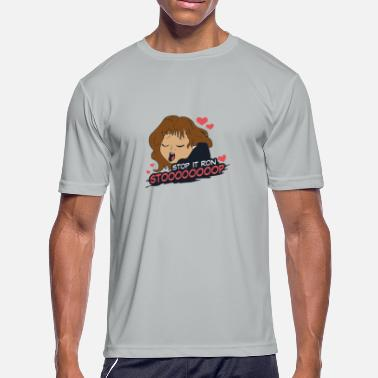 Stop Stop It Ron - Men's Moisture Wicking Performance T-Shirt