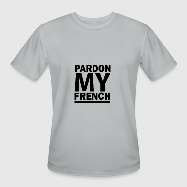 French PARDON MY FRENCH DJ SNAKE - Men's Moisture Wicking Performance T-Shirt