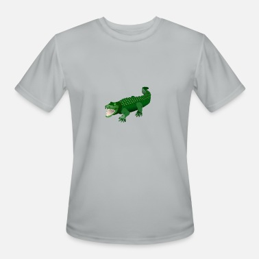 Aligator kroko 76 - Men's Moisture Wicking Performance T-Shirt