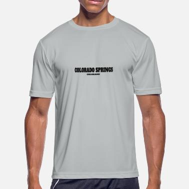 Football COLORADO COLORADO SPRINGS US EDITION - Men's Moisture Wicking Performance T-Shirt