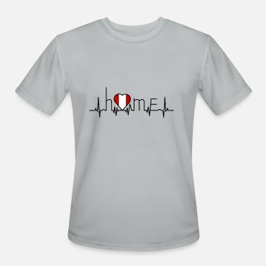 I Love Peru i love home Peru - Men's Moisture Wicking Performance T-Shirt