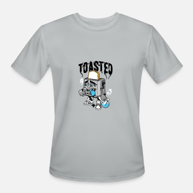 Toasted hangover toasted - Men's Moisture Wicking Performance T-Shirt