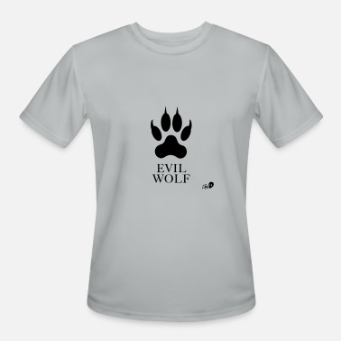 Evil Wolf Der Evil Wolf - Men's Moisture Wicking Performance T-Shirt