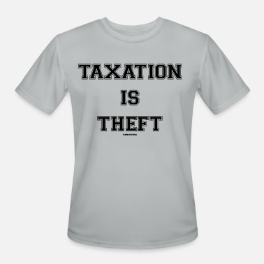 Pill Taxation is Theft - Dark - Men's Sport T-Shirt