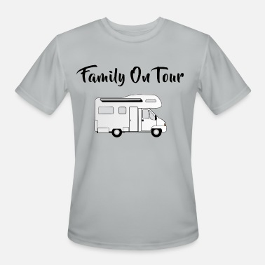 Camper Van - Family On Tour - Men's Sport T-Shirt