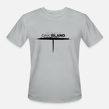 Oak oak island - Men's Sport T-Shirt