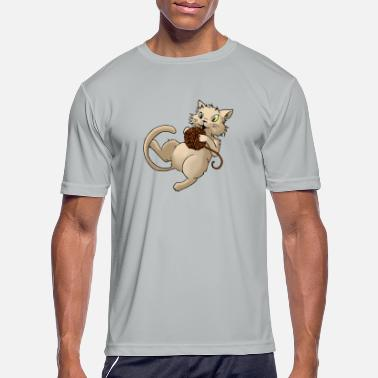 Animaux animaux chat félin animaux - T-shirt sport Homme