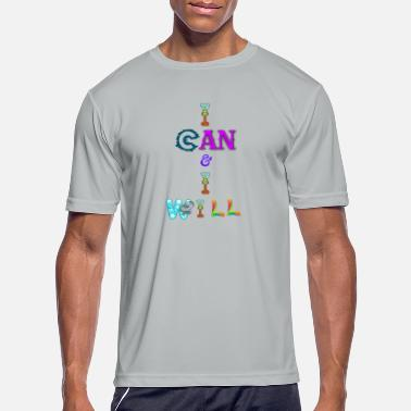 I can and I will - Men's Sport T-Shirt