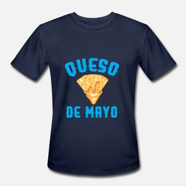 Queso Funny Queso De Mayo - Men's Moisture Wicking Performance T-Shirt