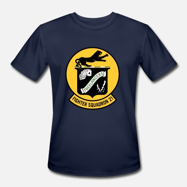 4 Twenty Fighter Squadron Twenty One VF-21 - Men's Moisture Wicking Performance T-Shirt