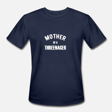 Terrible Mother of a Threenager for Third Birthday - Men's Sport T-Shirt