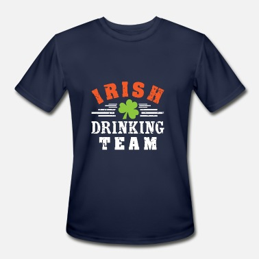 Team Irish IRISH Drinking TEAM - Men's Moisture Wicking Performance T-Shirt