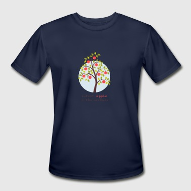 Adorbs Adorable kids - Cutest Apple In The Orchard - Men's Moisture Wicking Performance T-Shirt