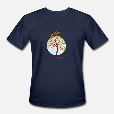 Orchard Adorable kids - Cutest Apple In The Orchard - Men's Moisture Wicking Performance T-Shirt