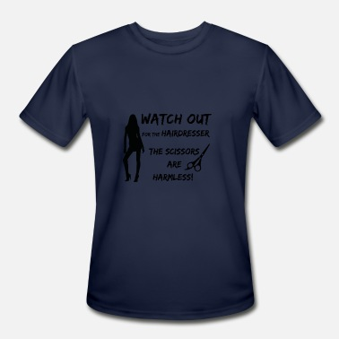 Hairspray Watch out for the hairdresser hairstylist gift - Men's Sport T-Shirt