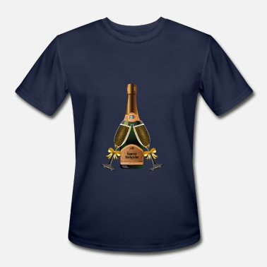 Champagne Love Champagne - Men's Moisture Wicking Performance T-Shirt
